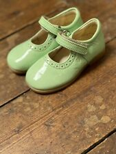 Naturino Girls Shoes Sandals Baby Pale Green Size 22 5.5 New