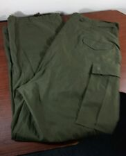 VINTAGE ORIGINAL TROUSERS, SHELL FIELD M-1951 ~ KOREAN WAR ~ LARGE REGULAR
