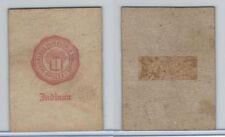 L20 American Tobacco Leather, College Seals, 1912, Indiana (White)