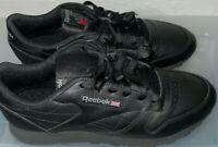 Reebok Women's Classic Leather Sneaker Size 11 Black