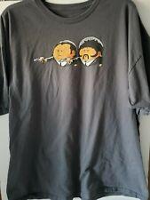 Pulp Fiction Movie Cartoon T-Shirt 2XL John Travolta Samuel L. Jackson Free Ship