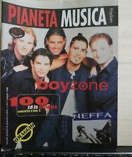 PIANETA MUSICA-RIVISTA MUSICALE - BOYZONE - NEFFA-MAGGIO 98-POLYGRAM