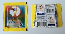 Panini WC Japan Korea 2002 - Pochette Bag Zakje Tüte Bustina Canadian Version