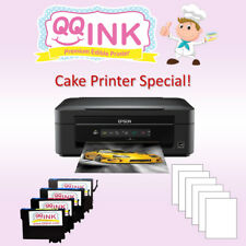Edible Printer - Epson Printer w/ 6 Edible Frosting Sheet & Edible ink Cartridge