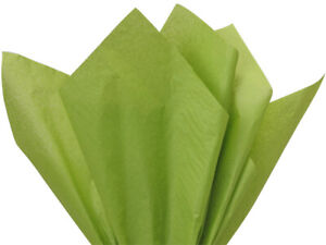 """Gift Grade Tissue Paper Sheets - 15"""" x 20"""" Choose Color and Package Amount"""