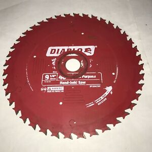 "Diablo Saw Blade 235MM (9 1/4"") Hand Held Saw Used"