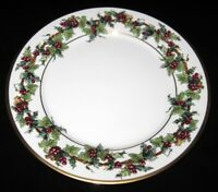 """Royal Gallery Macy's THE HOLLY AND THE IVY, Salad Plate, 8 1/4"""""""
