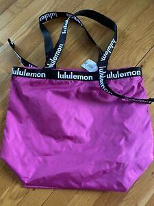 Lululemon Women's The Rest is Written Tote Bag Highlight Purple - Brand New