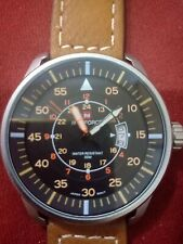 New Naviforce Military Sport Watches Men Luxury Brand Leather Strap Quartz Watch
