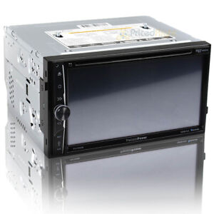 "Precision Power 7"" 2 DIN Dvd Multimedia BT Source Unit with Android Phonelink"
