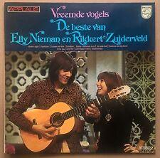 LP Vreemde Vogels - De Beste Van Elly Nieman En Rikkert Zuiderveld Dutch Folk