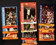 11 DIFFERENT 1992 KELLOGG'S COLLEGE BASKETBALL GREATS