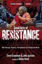STEVE CRAWSHAW __ SMALL ACTS OF RESISTANCE ___ BRAND NEW ___ UK FREEPOST