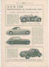 Frazer Nash original Period Reprint from Autocar 1948