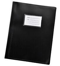 Black A4 flexicover 104 pocket display book presentation Document Folder-DB10BK