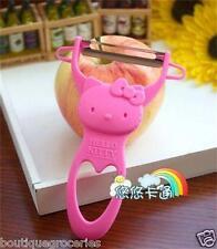 Cartoon Cute Pink Hello Kitty Fruit Vegetable Paring Knife KT Kitchen Ware Tool