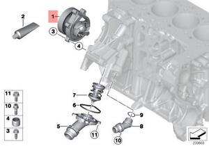 Genuine BMW MINI R55N R56N R57N R58 R59 R60 R61 Water Pump OEM 11518512443