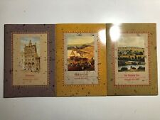 Australia Heritage Stamps 3 Books Libretti Folder Libri The Colonial Collection