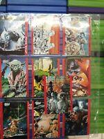 Star Wars Trilogy - Topps Trading Cards (1995) full set