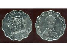 JAMAIQUE  ten  10 dollars  2005   ( bis )