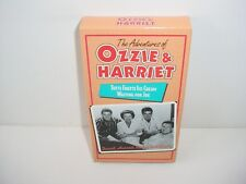 The Adventures of Ozzie and Harriet Tutti Frutti Ice Cream VHS Video Tape Movie