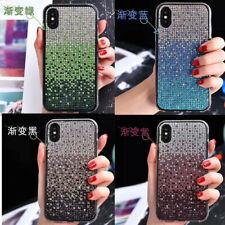 10pcs/lot Glitter Bling Diamond Gradient Hard Back Case For iPhone 12 pro Max