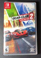Gear Club Unlimited 2 (Nintendo Switch) NEW