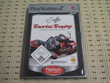 Tourist TROPHY THE REAL RIDING SIMULATOR PER PLAYSTATION 2 ps2 PS 2 * OVP * P