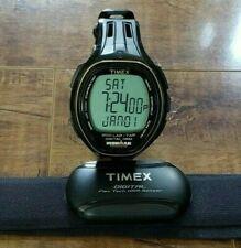 TIMEX Ironman Triathlon Target Trainer Watch + Digital Flex Tech HRM Sensor Band
