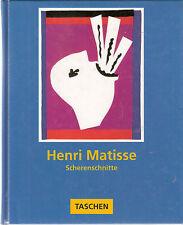 Henri Matisse Scherenschnitte Text von Gilles Néret