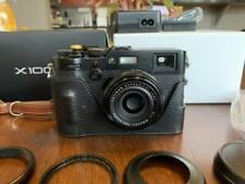 Fujifilm FinePix X100F 24.0 MP Digital Camera w/ Leather Case in Box - Black