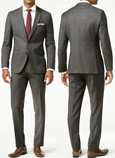 NWT $895 HUGO (Hugo Boss Red Label) By Hugo Boss Slim-Fit Wool Suit Size 46L(US)