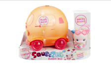 SQUEEZOOS BUBBLE BUS & MISS MOO-MOO MOTORISED PLAYSET BY LITTLE TIKES **NEW**