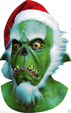 Scary GRINCH Troll Mask Christmas Movie Latex Adults Fancy Dress Costume Party