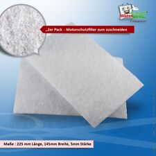 Universal Motorschutzfilter geeignet Bomann BS 9021 CB