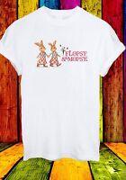 Peter Rabbit Characters Flopsy & Mopsy Cortoon Men Women Unisex T-shirt 596