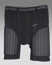 New NIKE Mens Football PRO COMPRESSION Combat Shorts Pants Black 2XL  XXL
