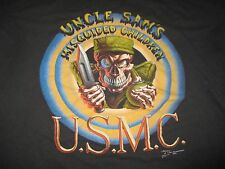 1991 USMC UNITED STATES MARINE CORPS Uncle Sam's Misguided Children (XL) T-Shirt