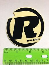 "3"" RALEIGH Mountain Road Ti Race Bike Black on Clear Frame Sticker Decal 🚲⭐🚲"
