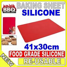 30x40cm Silicone Oven Bake Baking Sheet Mat Liner Clay Pastry Tool Rolling Gift