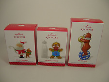 Hallmark 2014 Ornaments First Series Tis Seasoning Tin Toy Kris Kringle Lot of 3