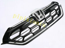 1x Chromed Front Grille modified style Top Grille for Honda CRV CR-V 2017 2018