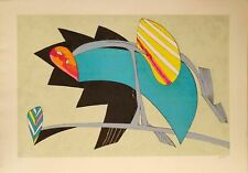 Lithography Lithographie en Couleur Litografia a Colori GIANNI DOVA 80/125 1970