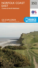 Norfolk Coast East Explorer Map 252 Ordnance Survey