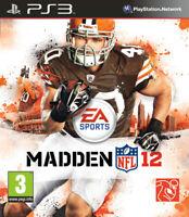 Madden NFL 12 (Football Américain 2012) PS3 PLAYSTATION 3 Electronic Arts
