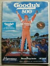 More details for martinsville speedway goodys 500 nascar sep 1991 a4 programme winston cup series