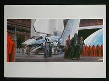 Vintage Star Wars 1982 ROTJ Ralph McQuarrie Print #10 Darth Vader & Royal Guard