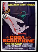 Manifesto The Tail The Scorpio Sergio Martino G.Hilton A.Strindberg 6468 2/12ft