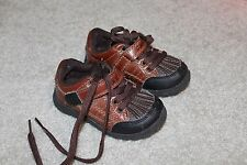 Carters casual dress shoes toddler infant boy 6 shotgun 3 brown black