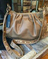 NWT $525 HAMMITT Los Angeles Vine Chamomile & Gold Leather Hobo Shoulder Bag